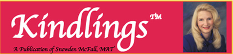 Kindlings Newsletter masthead