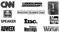 Motivational speeches - Media logos