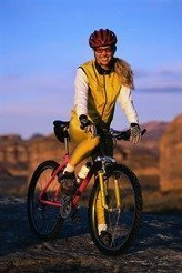 Smiling Mountain Biker