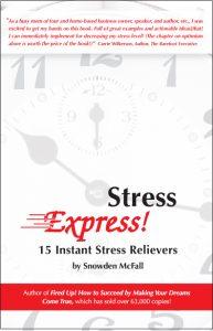 Stress Express book by stress expert Snowden McFall